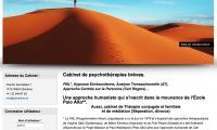 Visuel d'un site web Drupal pour un psychotherapeute de genève